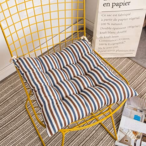 Amazon.com: weiwei Home Chair Cushion,Square Warm and Non ...