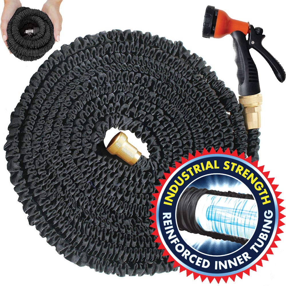 IHose Magic 30,5 m espandibile Garden acqua tubo flessibile e ugello