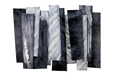 Scultura Decorazioni Da Parete In Metallo.Kunstloft Scultura Da Parete In Metallo Eleganza Cool 80x60x5cm