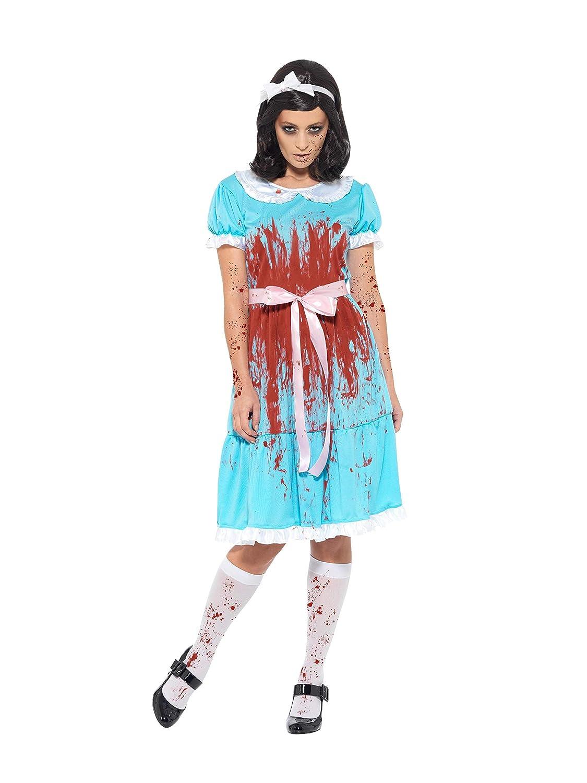 Smiffys 47574S Bloody Murderous - Disfraz para adulto (unisex), color azul