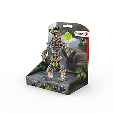 SCHLEICH Eldrador Stone Skeleton with Weapon Imaginative Figurine for Kids Ages 7-12: Schleich: Toys & Games