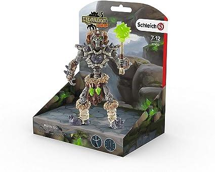 Eldrador Plastic Figure 42450 SCHLEICH Stone skeleton with Weapon