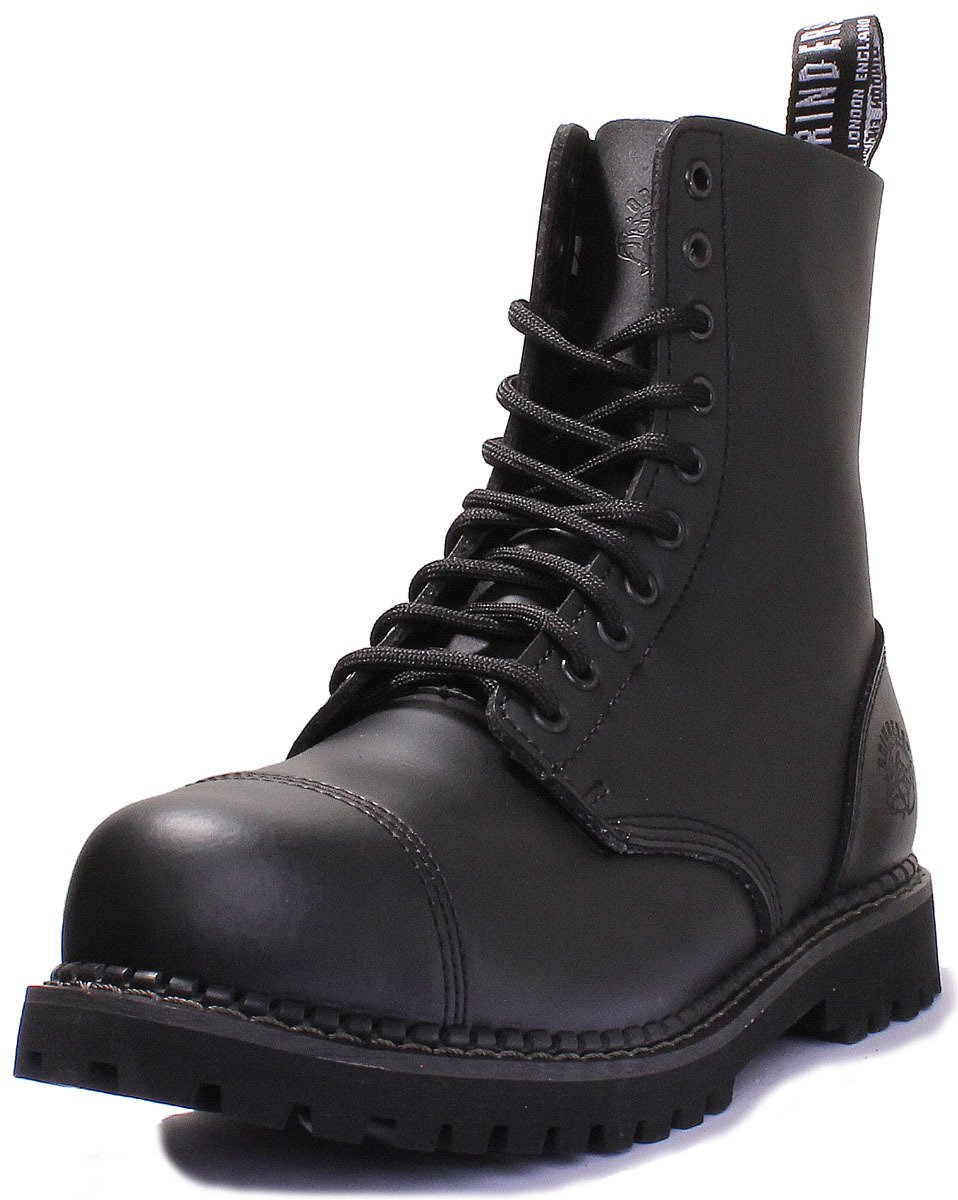 Stag 2015 Matte Finish Mens Safety Steel Toe Cap Boots