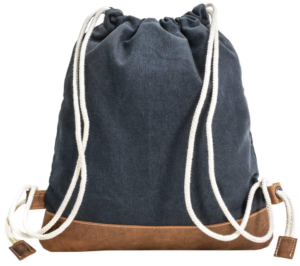 Gusti Cuir studio Bert sac /à dos bi-mati/ère sac /à dos pour tous les jours bagage /à main voyage sac port/é dos homme femme cuir de buffle bleu 2M67-20-12 Sac /à dos