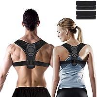 Posture Corrector for Men and Women, Adjustable Shoulder Support Brace, Back Straightener, Providing Pain Relief for…