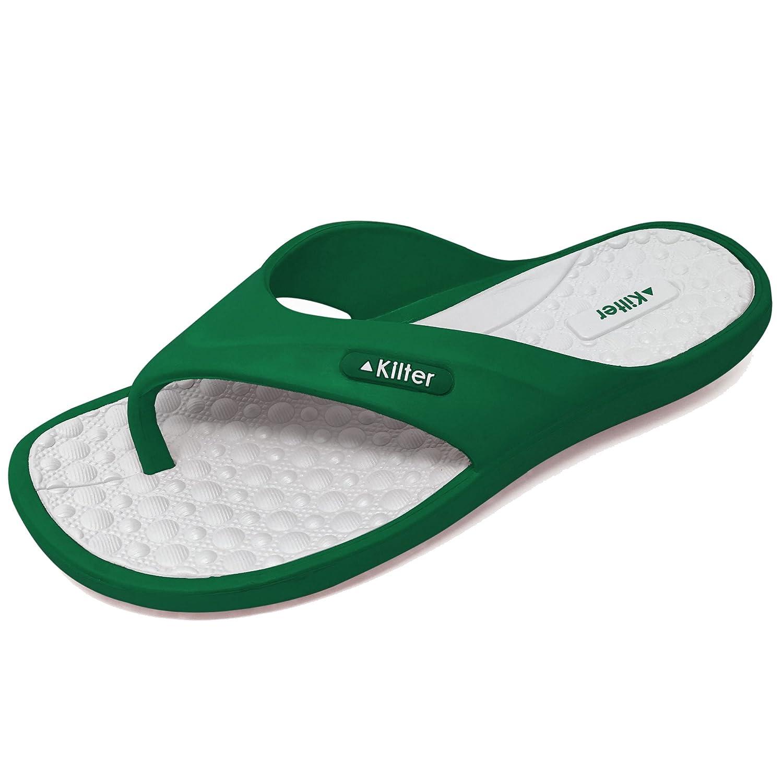 a7b77710b1dea1 Kilter Adult s Pulsar EVA Moulded Flip Flop  Amazon.co.uk  Shoes   Bags