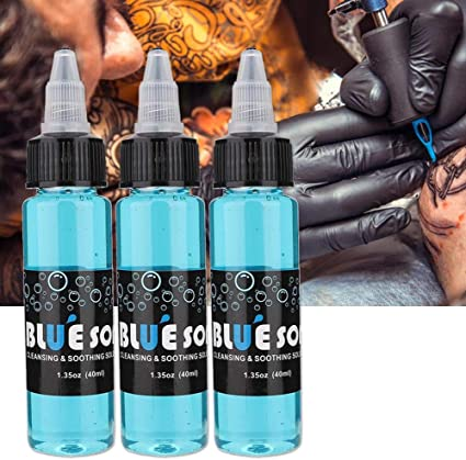 Limpiador para tatuajes, 3 botellas / 40 ml After Care Tattoo ...