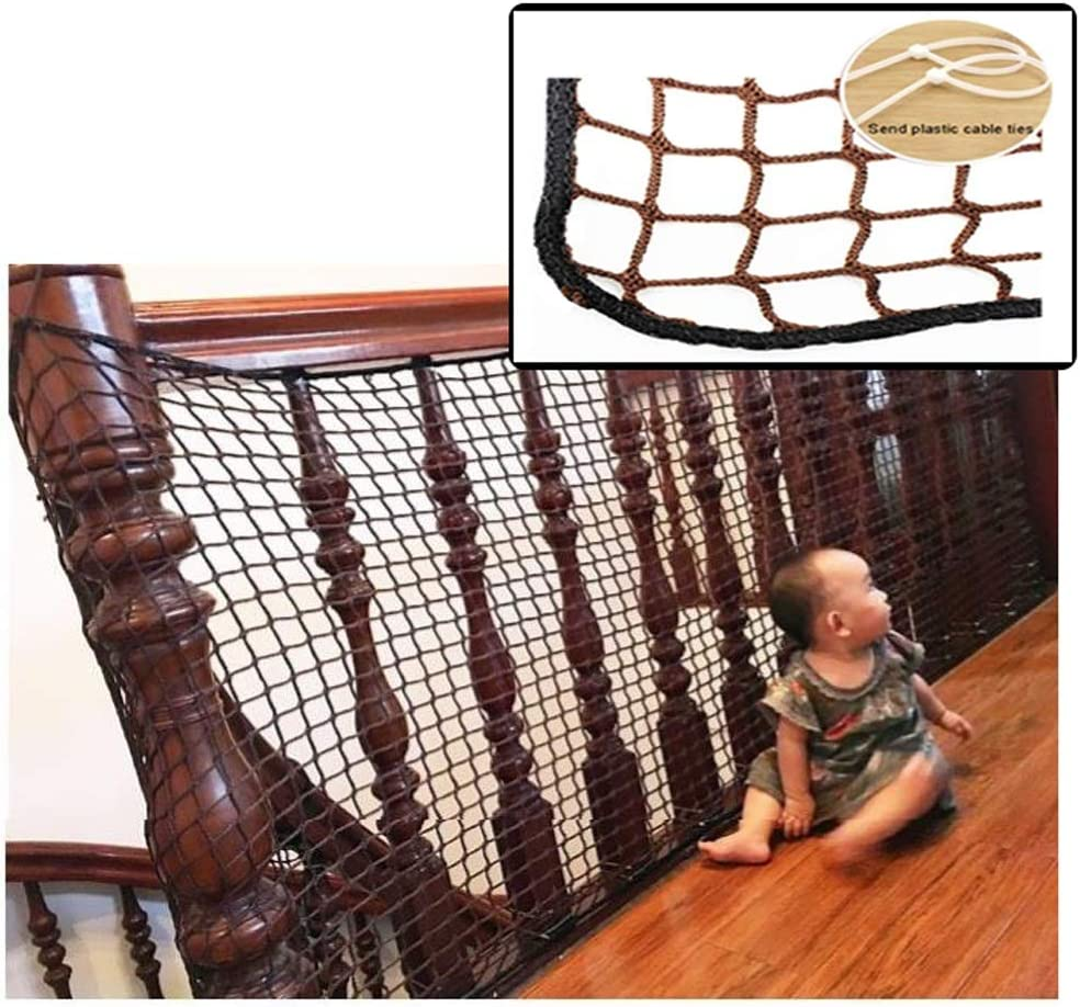 S/écurit/é Filet de pour Grilles nakw88 Enfant S/écurit/é Filet pour Escaliers Free Size Blanc 3M /Épais Maille Balcon S/écurit/é Filet pour Enfants Automne Protection Int/érieur Ext/érieur