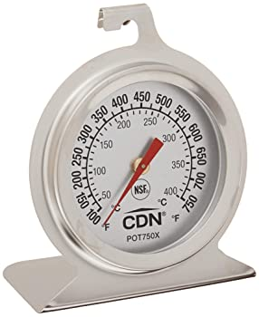 CDN POT75X ProAccurate High Heat Oven Thermometer