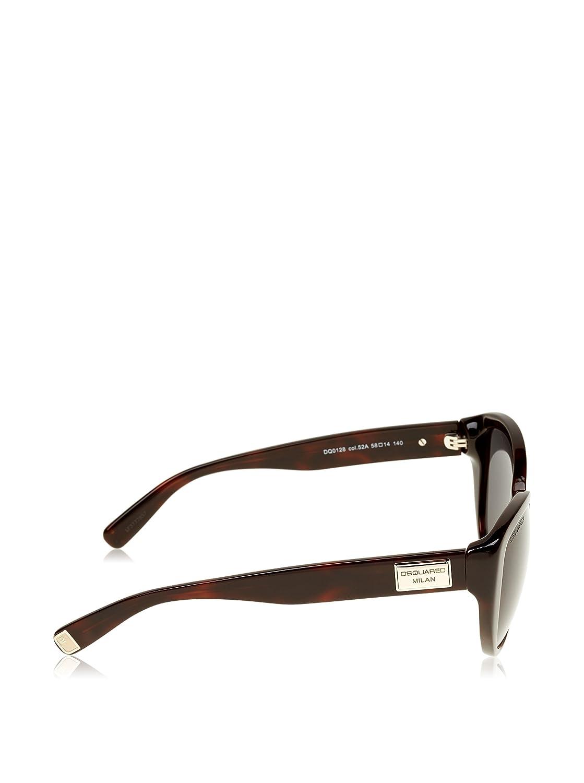 Amazon.com: Dsquared2 Gafas de sol Para Mujer dq0128 – 52 A ...