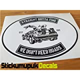 Sticker for Car Van laptop//Car Motorcycle size 80mm Motorbike Vdub Goonies Never say Die Retro funny Car colour Printed Vinyl Car Sticker//Decal Free P+P laptop Sticker HQ print