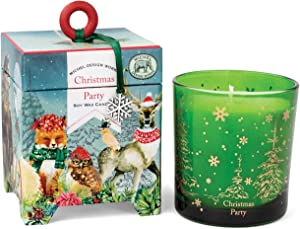 Michel Design Works 6.5 oz Soy Wax Candle, Christmas Party