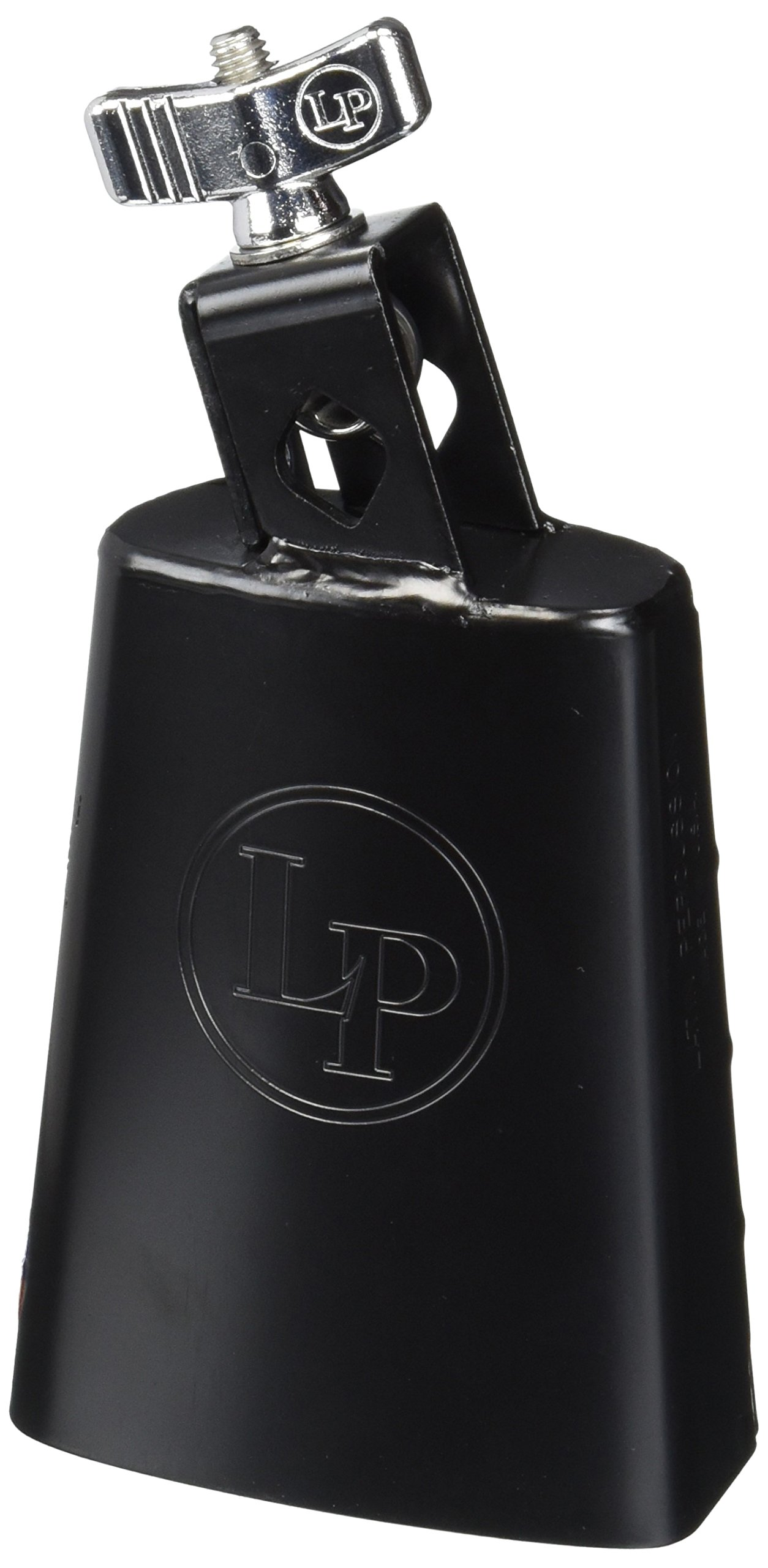 Latin Percussion LP204A Handheld Cowbell with Mount, Black