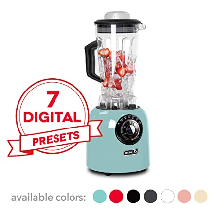 Dash dpb500rd Chef Serie Premium Digital - Licuadora, color rojo ...
