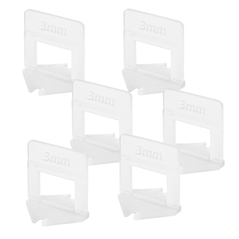 Lantelme - Tiras de sujeción para azulejos, 1 a 3 mm, 1000 unidades: Amazon.es: Bricolaje y herramientas