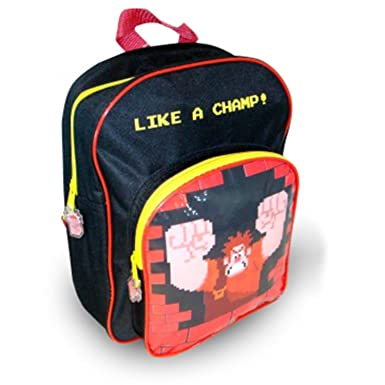 f02953ee7eb Disney Wreck It Ralph Backpack With Front Pocket  Amazon.co.uk  Clothing
