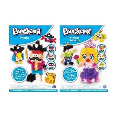 Bunchems Theme Pack 6039994, Compuestos para cerámica y modelaje, surtido: modelos aleatorios: Juguetes y juegos