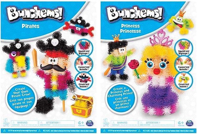 Bunchems Theme Pack 6039994, Compuestos para cerámica y modelaje, surtido: modelos aleatorios: Amazon.es: Juguetes y juegos