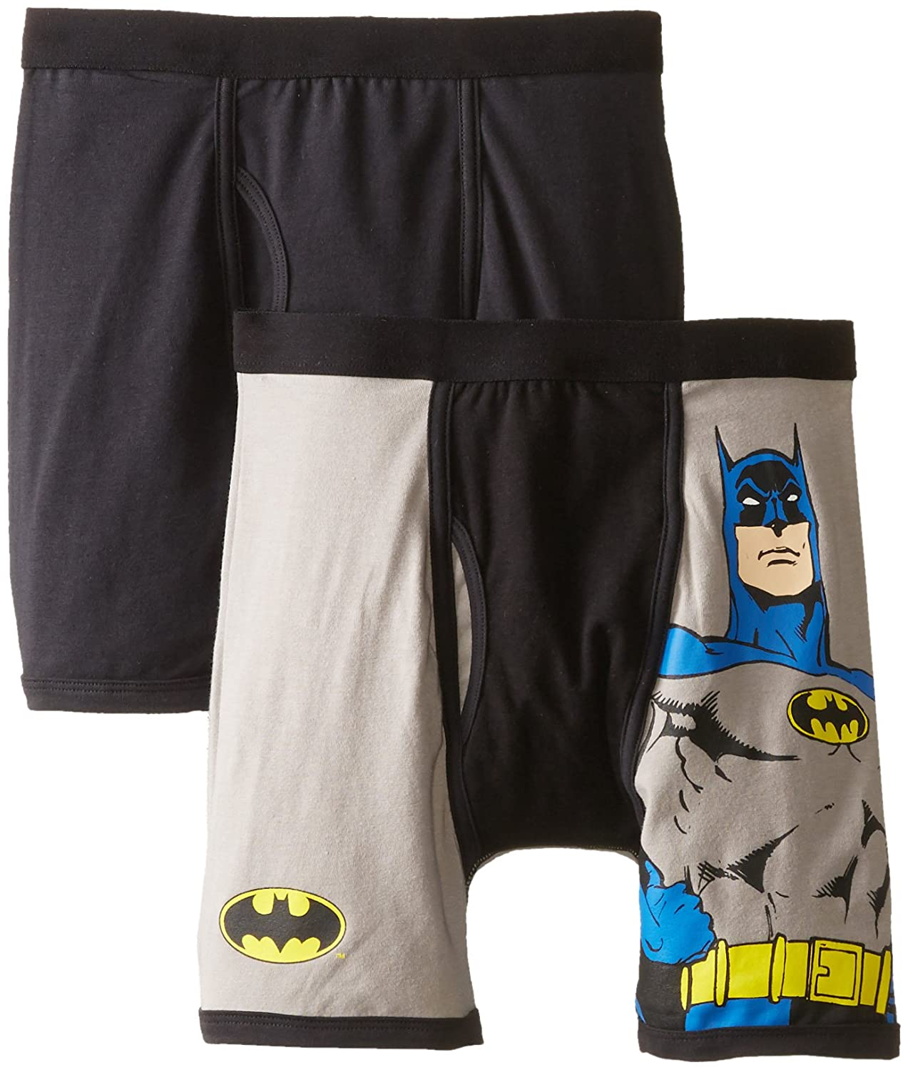 Intimo Little Boys' DC Comics- 2 Pack Classic Batman Boxer Brief Intimo Boys 2-7 019357
