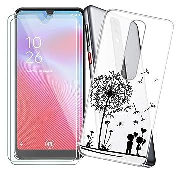 KJYF Fundas para Vodafone Smart V10 + 3 x Protectores de Pantalla ...