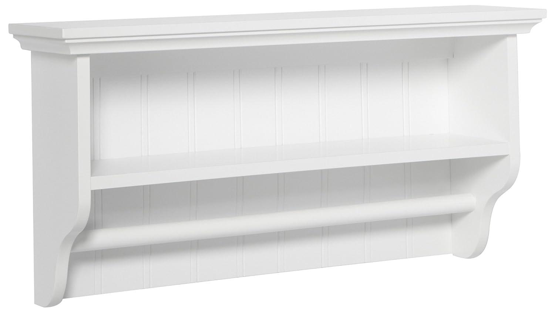 Amazon.com: Taymor Decorative Wall Shelf with Towel Bar: Home & Kitchen
