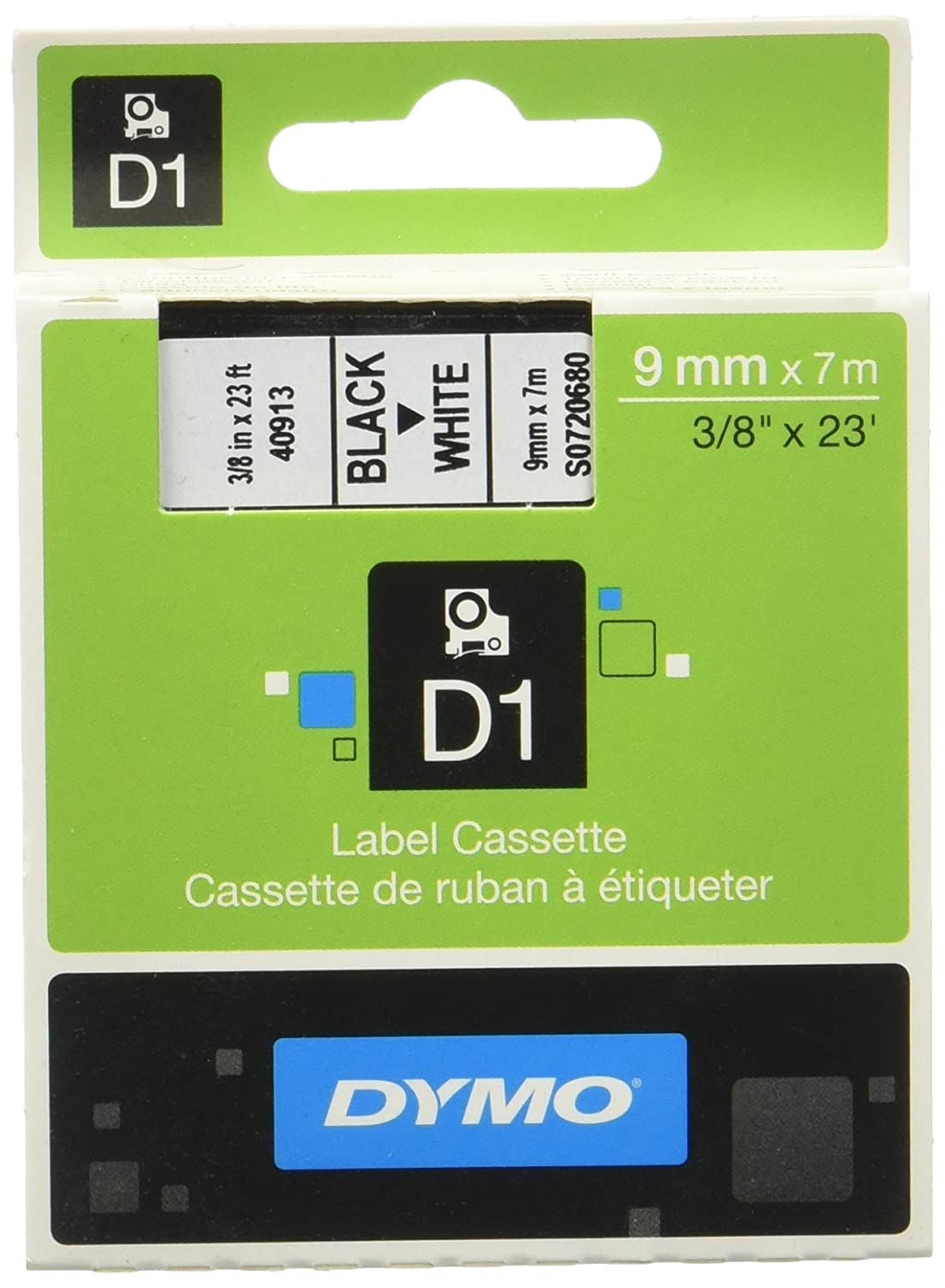 Dymo D1 Standard Self Adhesive Labels For Labelmanager Printers 9 Kotak Dvd Case 9mm Single Clear Import Mm X 7 M Office Products