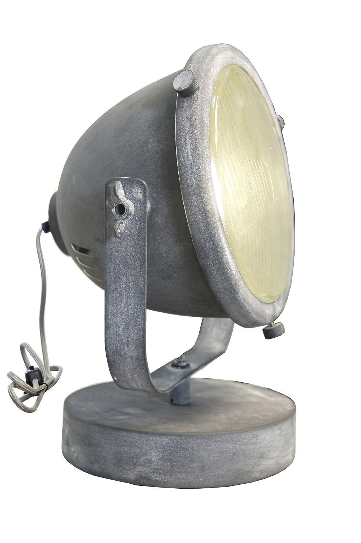 1/x E27/Max 40/W Vintage l/ámpara de mesa Industrial envejecido. gris hormig/ón metal