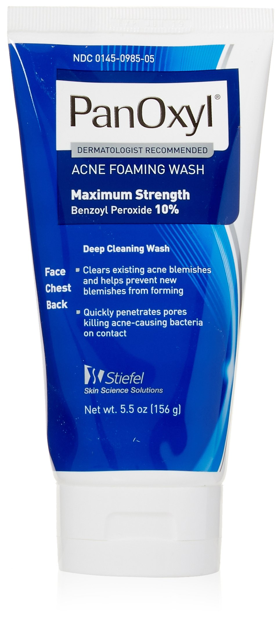 Stiefel PanOxyl 10 Percent Foaming Wash