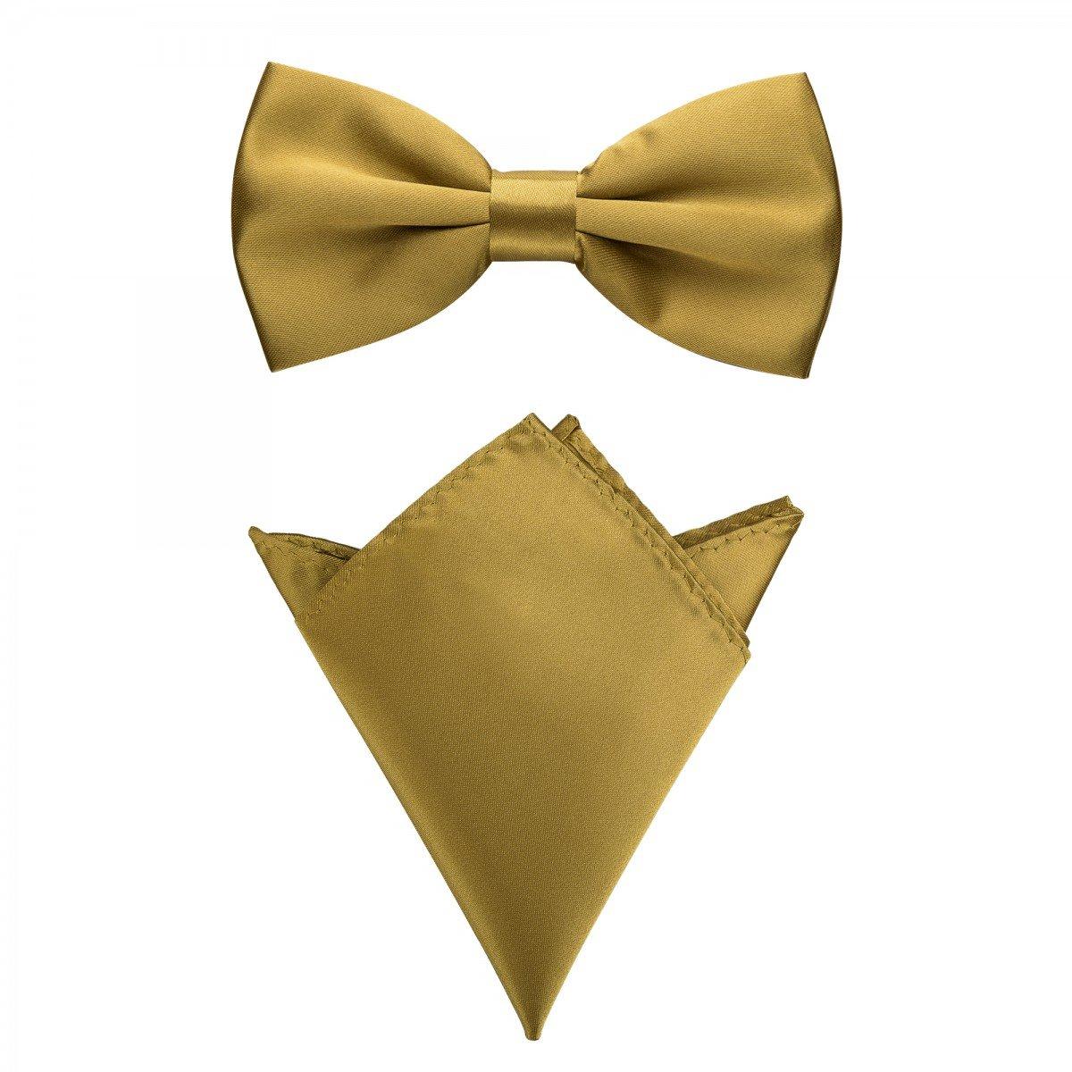 Rusty Bob jusqu/à 48 cm circonf/érence du cou un ensemble de 2 Voler avec un mouchoir en diff/érentes couleurs smoking - pour convenir