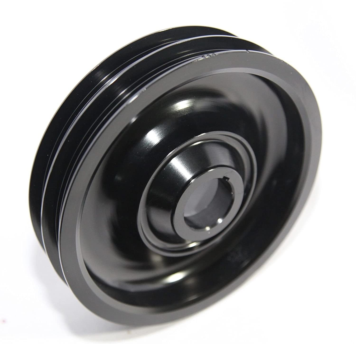 Amazon com: Aluminum Performance Black Crank Pulley for 97