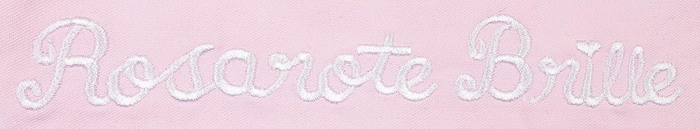 Ringelsuse Brillenetui zur Aufbewahrung Rosarote Brille 9 x 17 cm Damen Rosa Wei/ß Stickerei Tunnelzug Baumwolle Fairtrade