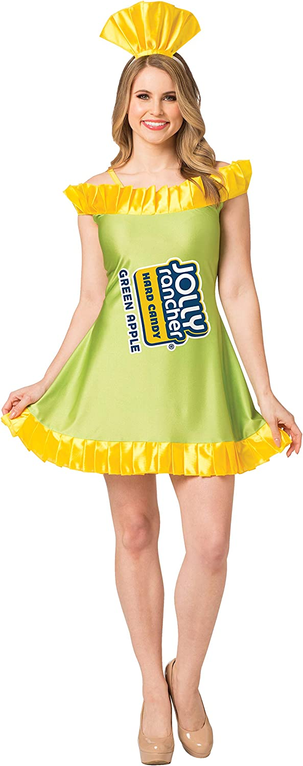 Women's Apple Jolly Rancher Costume
