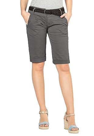 Damen Shorts Bermuda Kurze Fresh StyleElegante Chino Im Hose Made J1cKFl