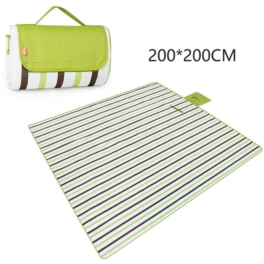 ERRU-Feuchtraum-Pad 200  200CM Camping Pad, Outdoor Portable Feuchtigkeitsfeste Pad Camping Zelt Schlafmatten Waterproof Feuchtigkeit