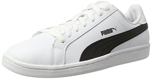 Bianco 39 EU PUMA SMASH L SNEAKER UNISEX ADULTO WHITE BLUE DEPTHS Scarpe