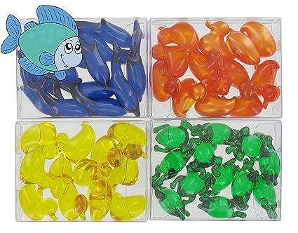 4 scatole di 12 perle da bagno - animali acquatici: Amazon.it: Bellezza