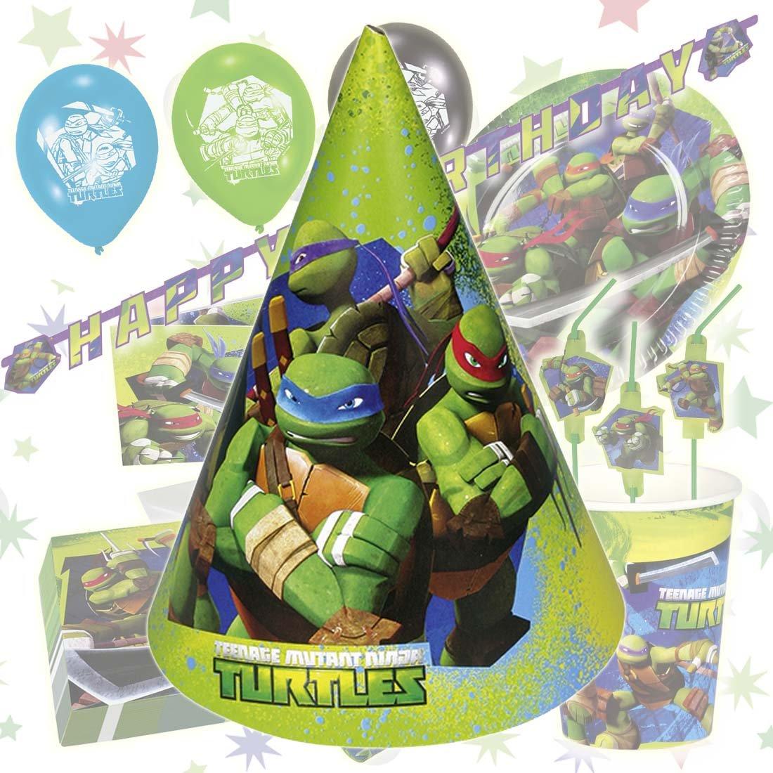 6 globos tortugas ninjas mutantes adolescentes balones cumpleaños ...