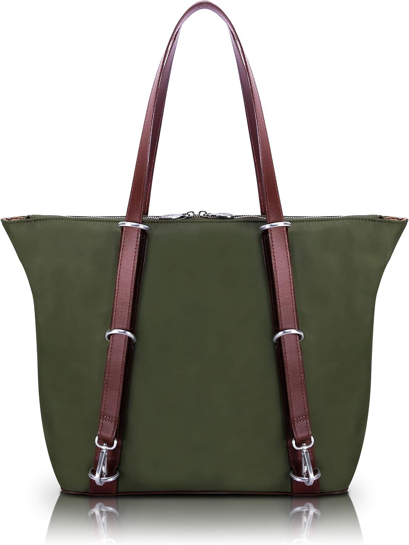 McKlein N Series Dylan 3-In-1 Nylon Convertible Backpack Tote