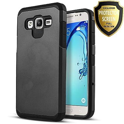 Amazon.com: Samsung Galaxy J7 Case, starshop híbrido Heavy ...