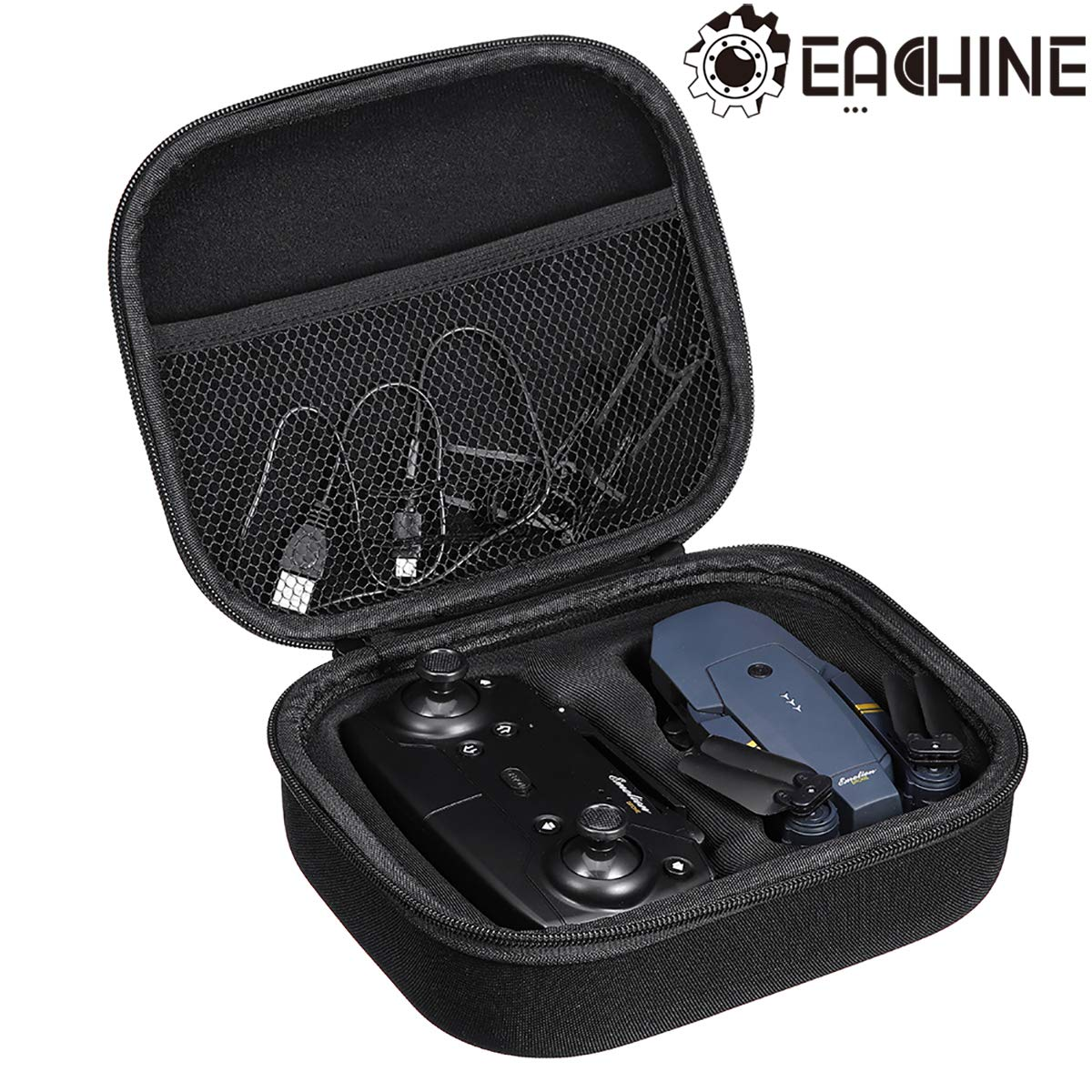 EACHINE E58 RC Drone Carrying Case Portable EVA Hard Handbag Storage Bag Carrying Case Box by EACHINE