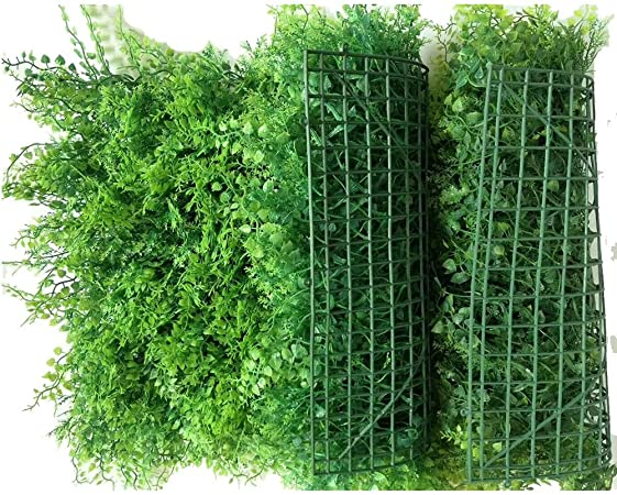 LVZAIXI Césped Artificial Jardín Vertical Colgar En La Pared Planta Decoración De Pared Fondo De La Planta De Césped Fence Balcón Patio De Fondo (Color : D, Size : 40x60cm): Amazon.es: Hogar