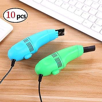 Eleganantamazing - Cepillo de limpieza para teclado y ordenador portátil, recargable por USB, 10 unidades: Amazon.es: Hogar