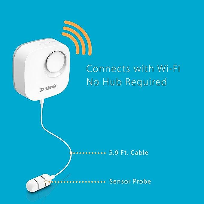 Amazon.com: D-Link - Sensor de fugas de agua y alarma ...
