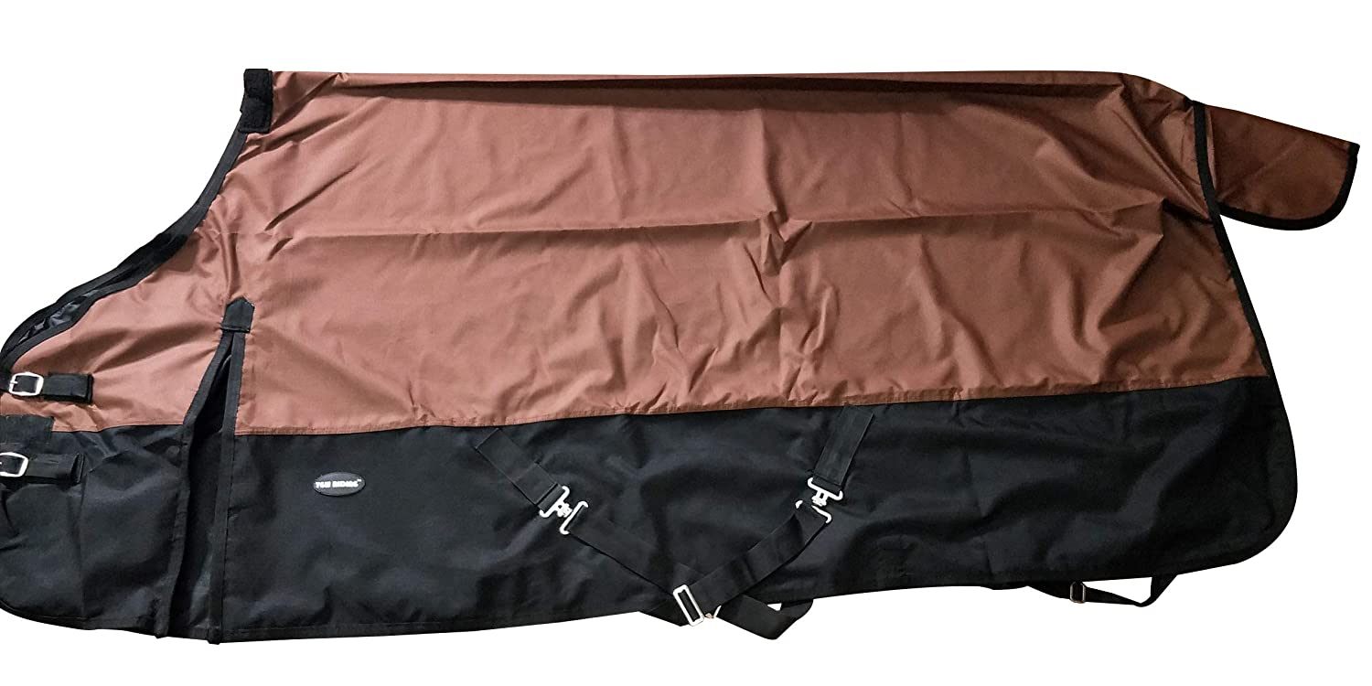 Brown 68 InchesTGW RIDING 600 Denier Waterproof and Breathable Horse Sheet (74 , Royal bluee) Size from 68 to 82