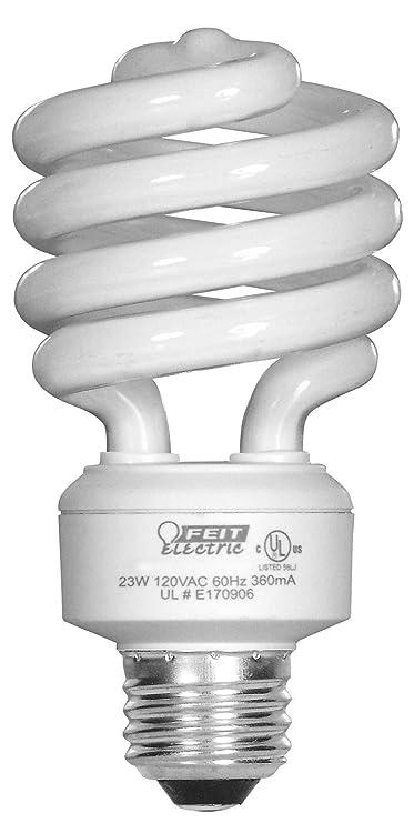 Feit Electric Esl23tmd4 23 Watt Daylight Mini Twist Light Bulb 4