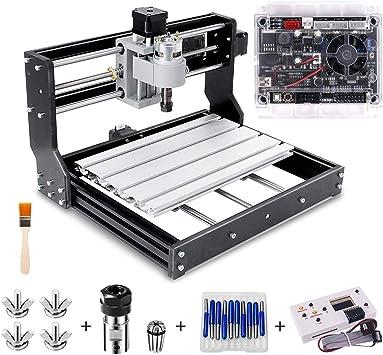 Cnc 3018 Pro Engraver Fräsmaschine Yofuly Upgrade Version Grbl Steuerungs Diy Mini Cnc Maschine 3 Achsen Leiterplattenfräsmaschine Mit Offline Controller Mit Er11 Und 5mm Verlängerungsstange Baumarkt