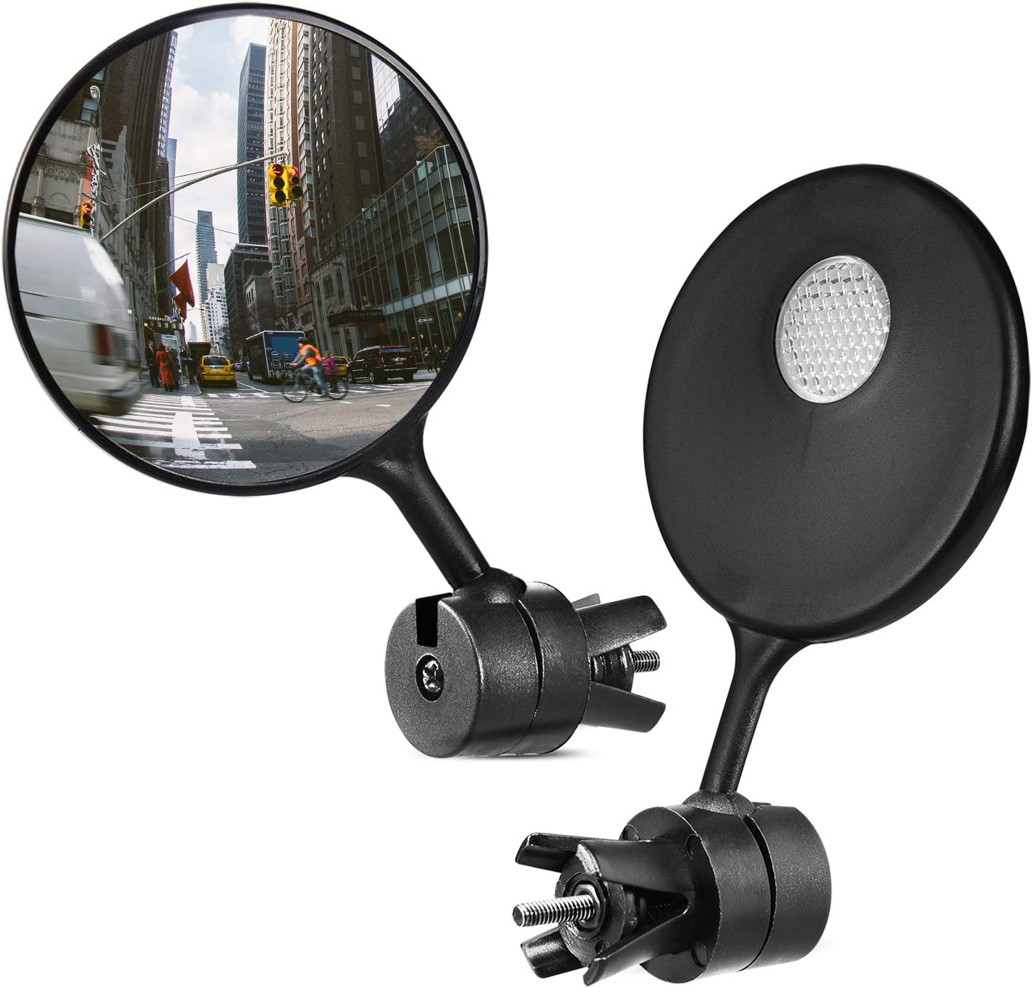 Wilxaw Set of 2 bicycle mirrors, handlebars