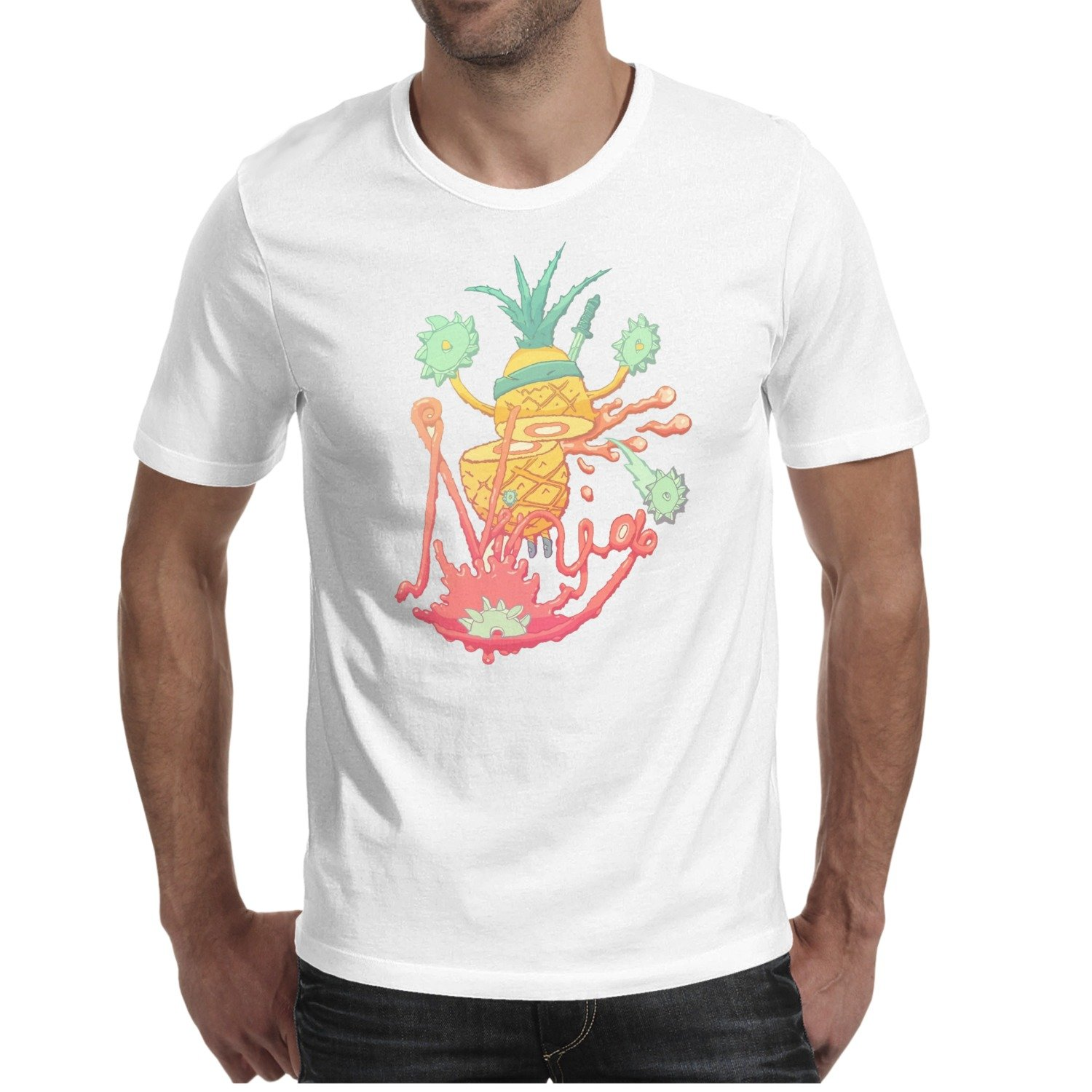 Amazon.com: Luwei Ninja Fruit Pineapple Man Fashion ...