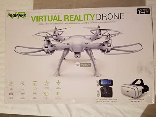 Amazon.com: Virtual Reality Drone With HD Camera,Premium Promark ...