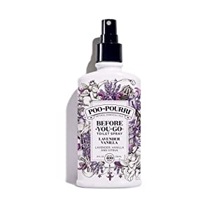 Poo-Pourri Before-You-Go Toilet Spray(Packaging may vary), Lavender Vanilla Scent, 8 oz